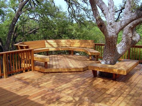 backyard wood patio great deck design ideas quiet corner