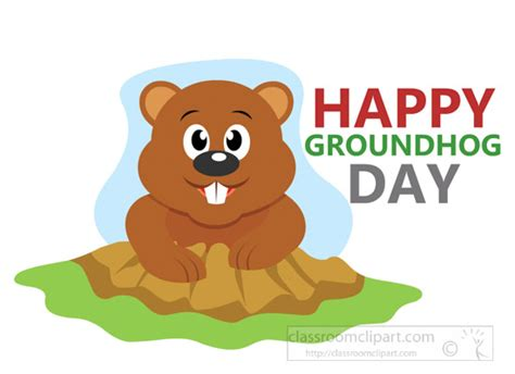 the groundhog day for free weather clipart ground hog day clipart 7117 classroom