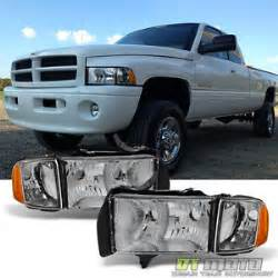 2000 Dodge Ram 1500 Headlights 1999 2002 Dodge Ram Sport Model Headlights