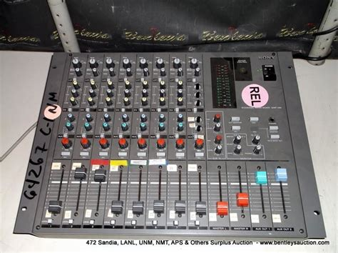 Mixer Audio Sony sony mpx 290 audio mixer print sequence 64267