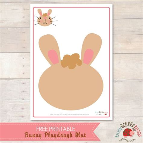 free printable spring playdough mats 17 best images about easter activities on pinterest