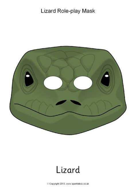 Free Printable Lizard Mask lizard mask printable printable 360 degree