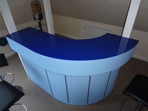 how to build a drinks bar with acrylic