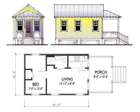 tiny house designs free one bedroom and a comfortable