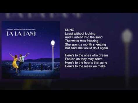 emma stone the fools who dream lyrics emma stone audition the fools who dream lyrics on s