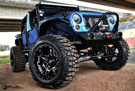 Jeep Wrangler W 24 Full Blown Fuel Wheels Amp 40 Mud