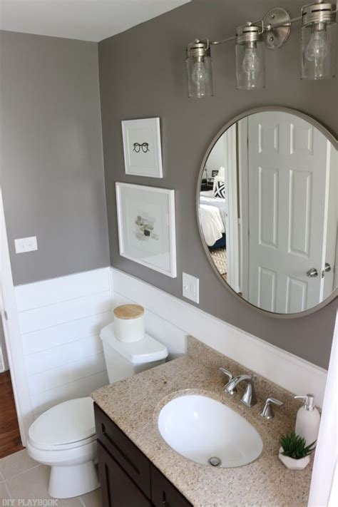Shiplap Small Bathroom 25 Best Ideas About Shiplap Bathroom On