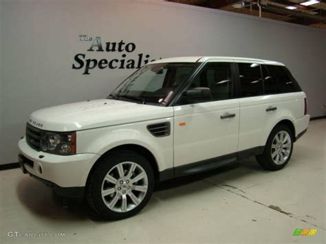 land rover 2007 2007 chawton white land rover range rover sport hse
