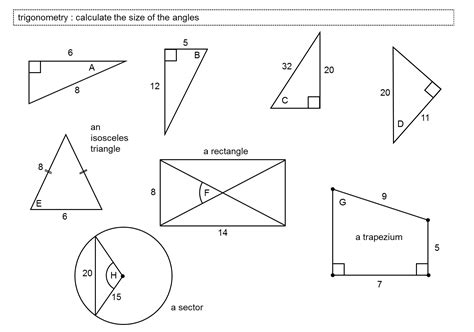 Angles In Polygons Worksheet by Missing Angles In Polygons Worksheet Worksheets