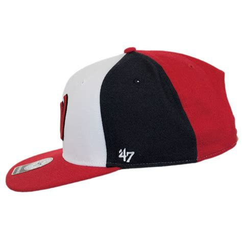 47 brand washington nationals mlb amble snapback baseball