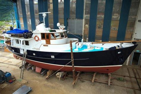 speed boats for sale scotland de vries steel trawler yacht 1969 yacht boat for sale in