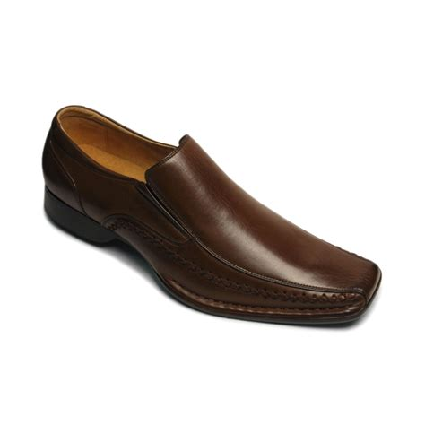 steve madden brown loafers steve madden madden trace loafers in black for brown