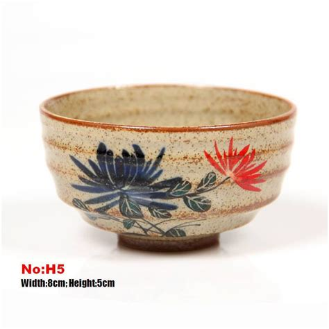 Handmade Tea Cups - 10 handmade crude ceramic tea cups handmade and