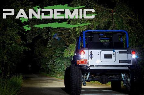 jeep wrangler circle lights pandemic led light conversion kit flush mount 4
