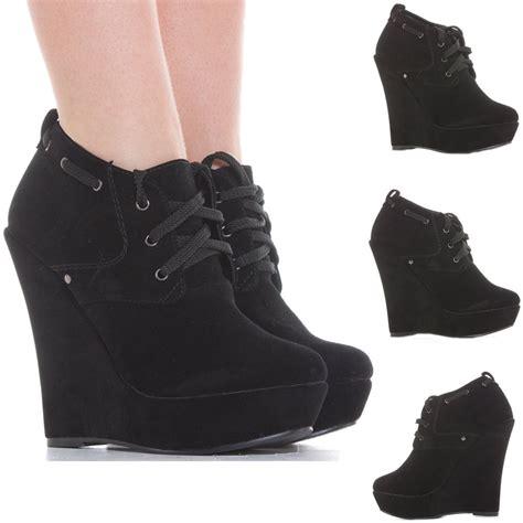 high heel wedges boots wedge shoes zip booties wedges high heel platform
