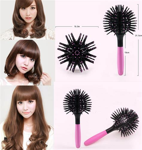 round hair extention new 2017 magic round hair extension brushes comb salon