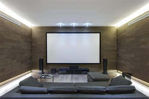 create a big experience in a small space performance - Home Theater For Small Room