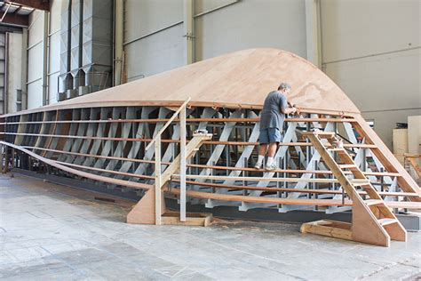 wooden boat construction american custom yachts wooden hulls built for speed