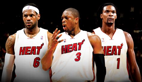 Mba Big 3 by Nba News Heat S Big 3 Discussing Contract Carmelo To