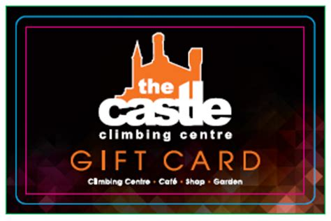 Gift Card Castle - gift cards the castle climbing centre