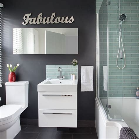 black and green bathroom black bathroom with green tiled shower decorating