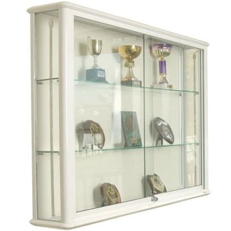Glass Wall Mounted Cabinets by Wall Mounted Glass Display Cabinets From Newlands 1000mm