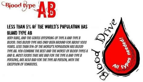 Ab Blood Type ab blood type ab personality type