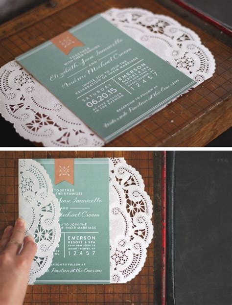 25 best ideas about doily invitations on diy