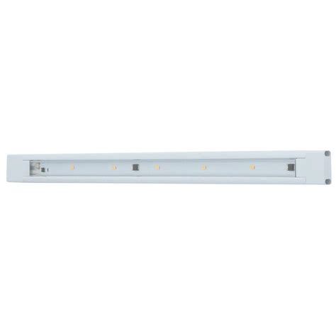 Ge Led Cabinet Lighting by Ge 18 In Led White Cabinet Light 12689 The Home Depot