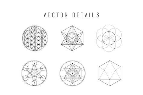 vector geometry tutorial skybox creative 187 sacred geometry vector illustrations vol 1