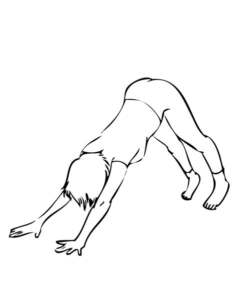 coloring pages yoga poses free coloring pages of yoga yoga poses