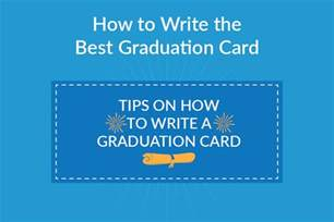 how to write the best graduation card graduation source