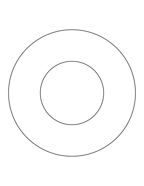 free coloring pages of circle shape work sheet