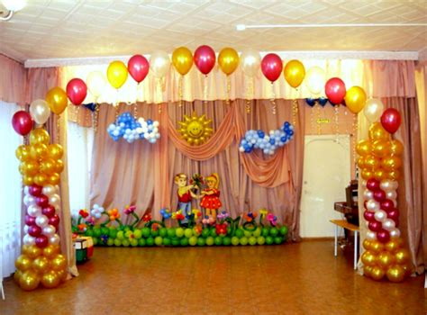 balloon decoration for birthday at home 1st birthday party balloon decorations dromieg top