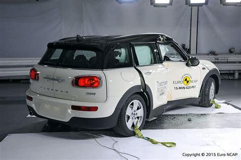 mini crash test mini clubman ncap crashtest 2015 bilder