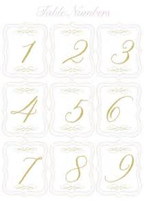 table numbers template free printable wedding table numbers templates best