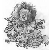 Clown Tattoo Drawings  Tattoobitecom