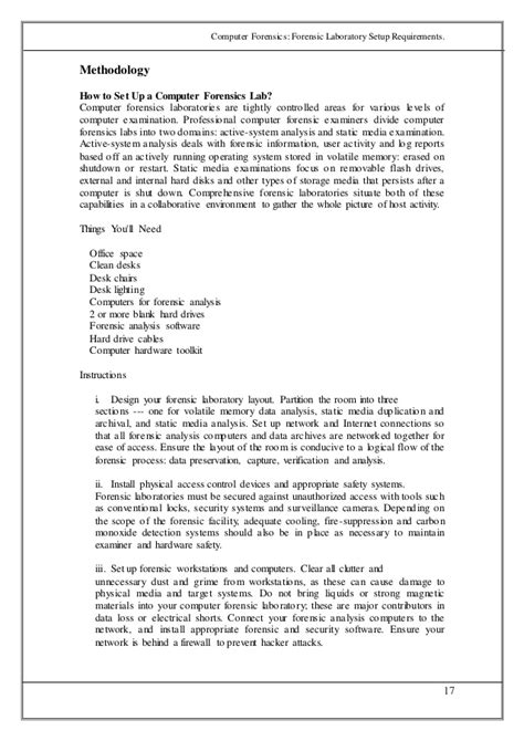 forensic report template 28 computer forensics report template 01 computer forensics fundamentals notes tweaking