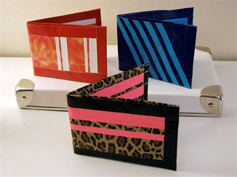 cute duct tape wallets curbly diy design