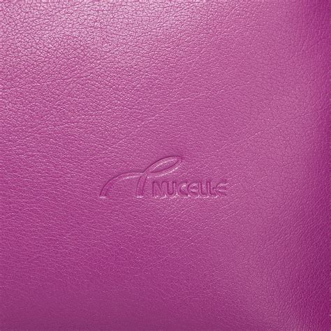 contrast color for pink nucelle contrast color genuine leather handbag rose red