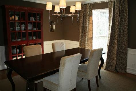 Brown Dining Room by Dining Room Benjamin Whitall Brown
