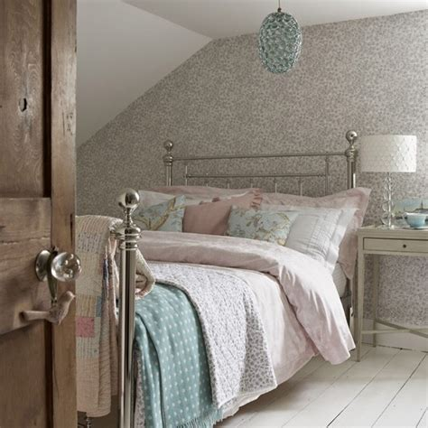 pastel room decor pastel country style attic bedroom sleep housetohome co uk