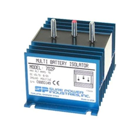 battery isolator vs capacitor sure power 702p battery isolator