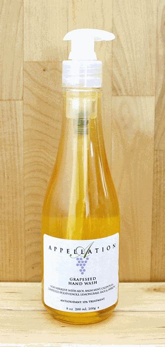 Appellation Spa Grape Seed Soak by Appellation Grapeseed Handwash Made In America By