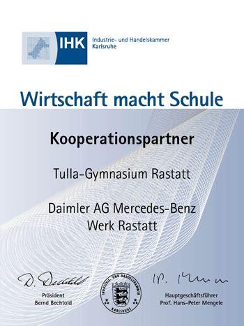 Bewerbung Daimler Ag Rastatt Tulla Gymnasium