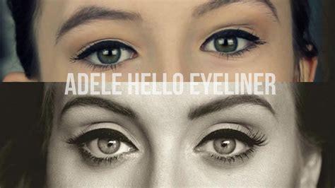 tutorial eyeliner adele adele 25 eyeliner tutorial youtube
