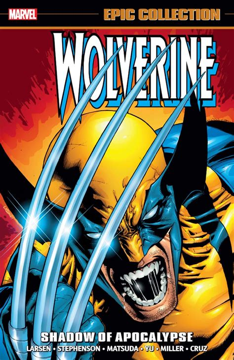 Wolverine Graphic 5 wolverine epic collection shadow of apocalypse graphic