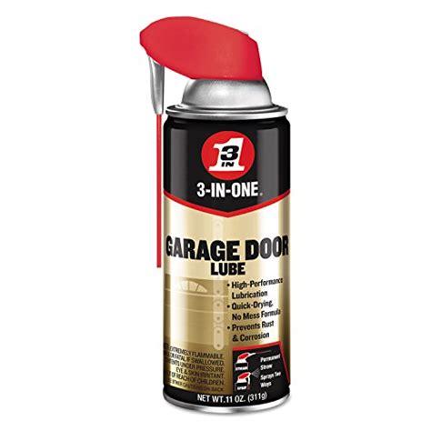 garage door lubricant what should i be using to lubricate my garage door