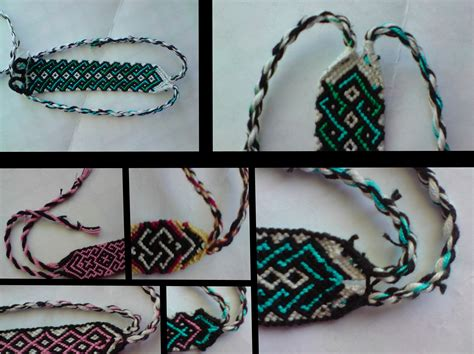 friendship bracelet tutorial 3 by bebe1221 on DeviantArt