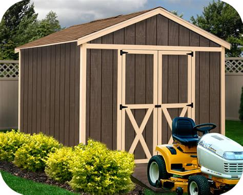 danbury  wood storage shed kit danbury
